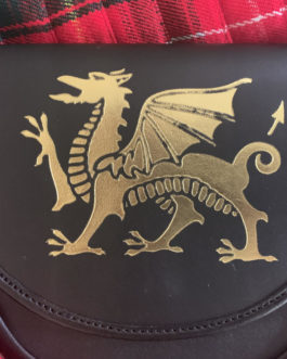 Welsh Dragon Sporran