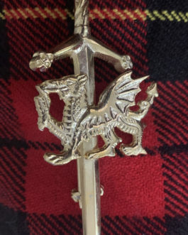 Welsh Dragon Kilt Pin