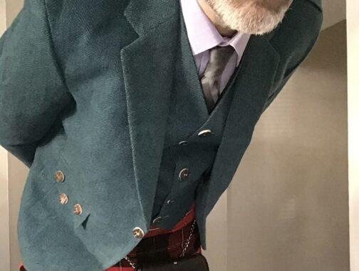 Lovett Blue Tweed