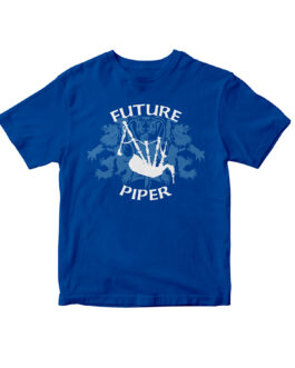 """Future Piper"" Blend Kids Tee (Royal)"