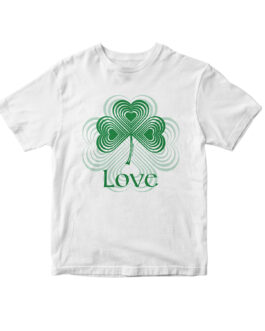 """Love"" Blend Youth T-shirt (White)"