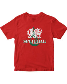 """Spitfire"" Blend Youth Tee (Red)"