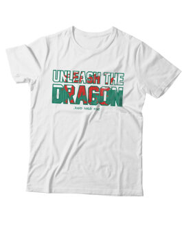 """Unleash the Dragon"" Blend Adult T-shirt (White)"