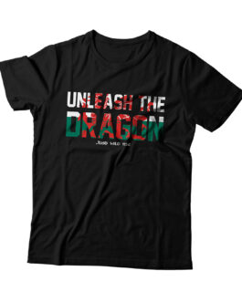 """Unleash the Dragon"" Blend Adult T-shirt (Black)"