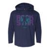 rockstar boy hoodie navy