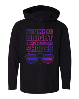 "**Preorder** Superstar ""Future So Bright"" Girls Hoodie"
